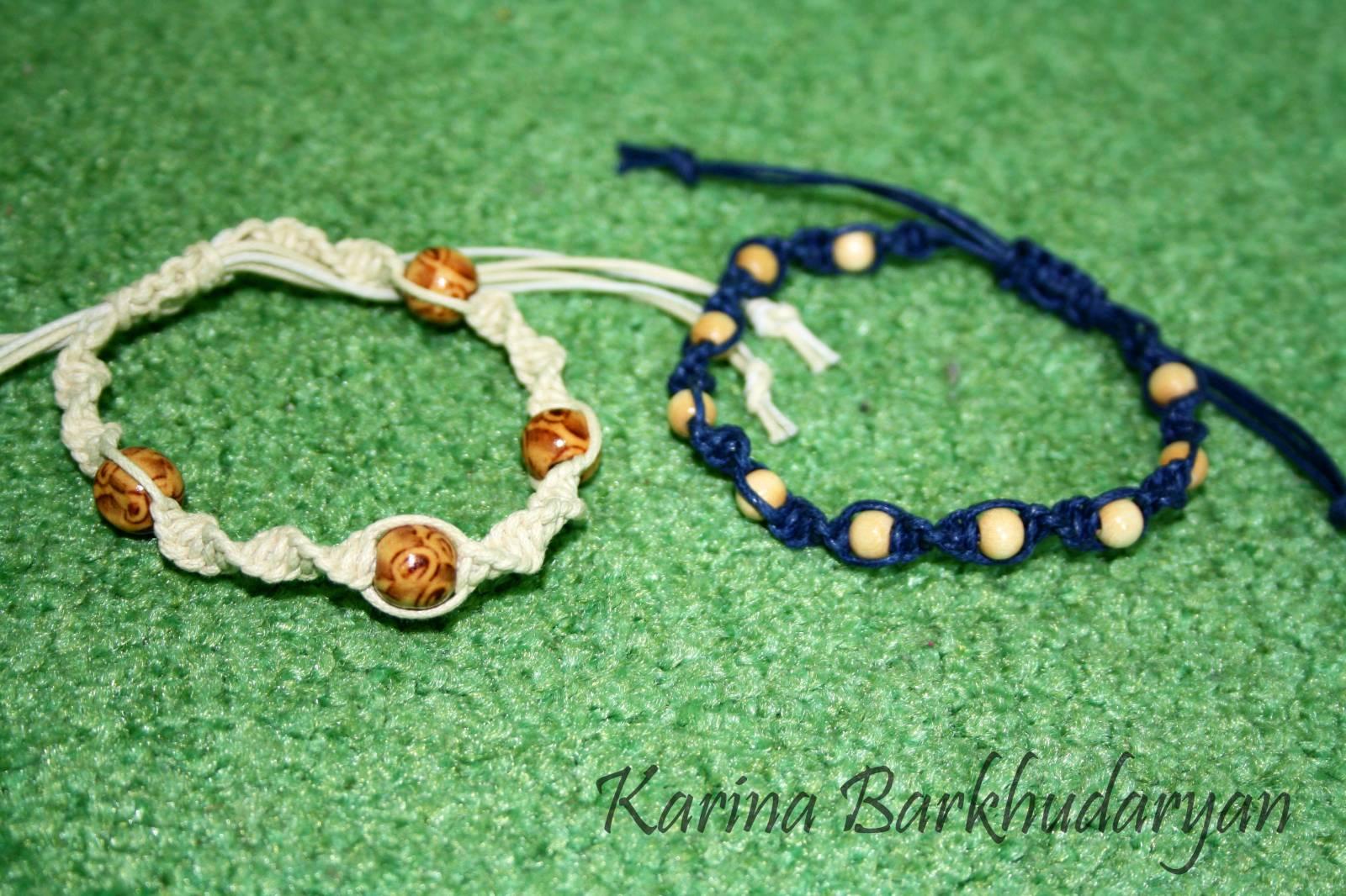 Семь (7) простых и красивых плетёных браслетов Всё самое 100